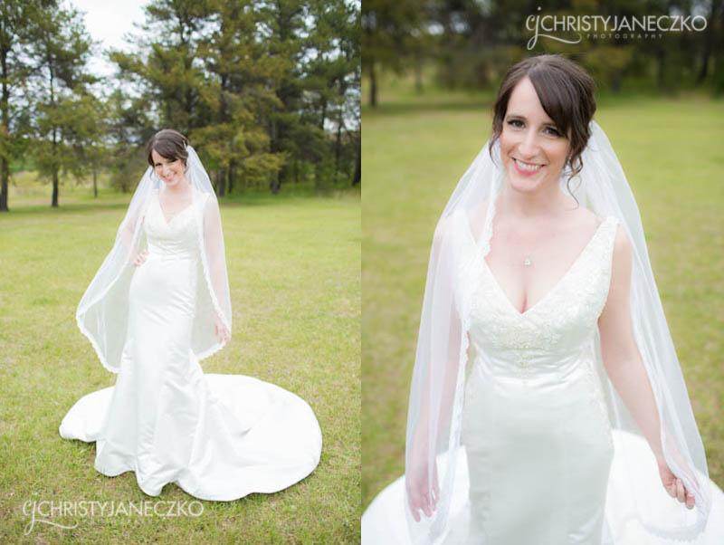 bridal portraits eau claire wi