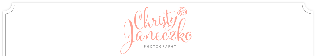 Modern Eau Claire Wisconsin Wedding Photography by Christy Janeczko Photography logo